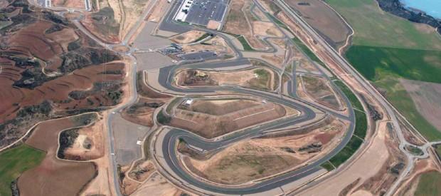 Circuito Alcañiz : Circuito de motorland en alcañiz alicia